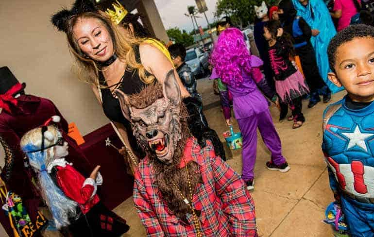 Halloween Treat Street at Kapolei Shopping Center