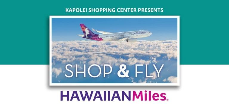 Shop & Fly Hawaiian Miles